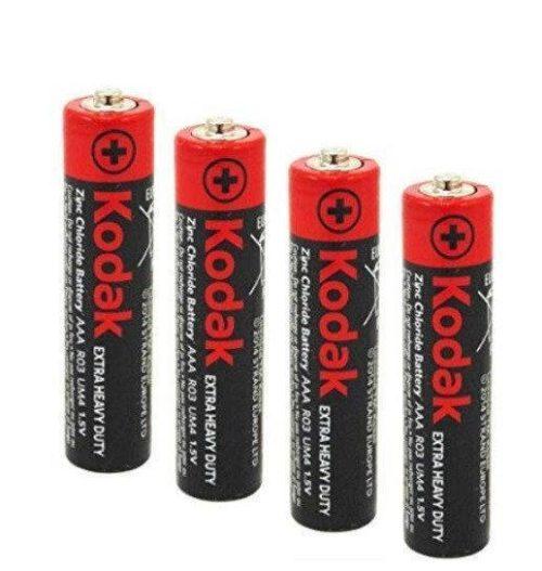 Батарейка алкалиновая Kodak Max, AAA, 1.5В, 1 шт.