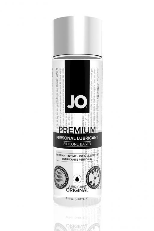 40004 Классический лубрикант на силиконовой основе JO Premium, 8 oz (240 мл)