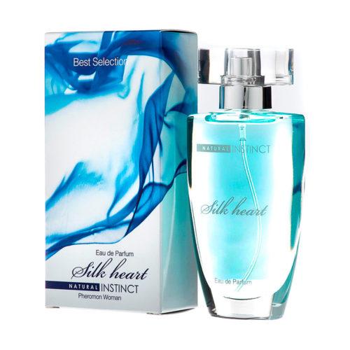 Парфюмерная вода с феромонами Natural Instinct Silk Heart 50 мл