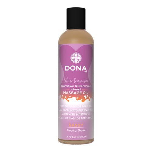 DONA Scented Massage Oil Sassy Aroma Tropical Tease 125 мл