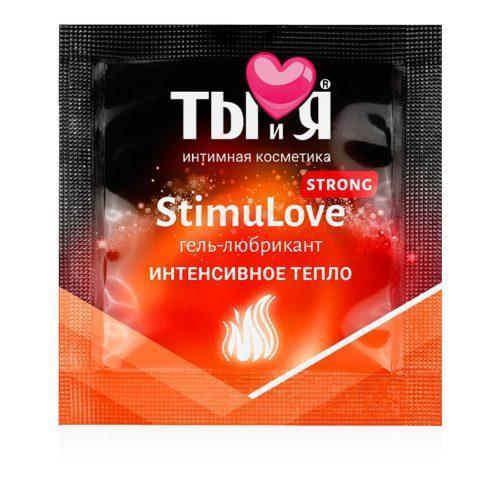 """Гель-лубрикант """"Ты и Я - Stimu Love Strong"""" 4 г"""