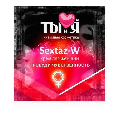 """Крем """"Ты и Я - Sextaz-W"""" 1.5 гр"""