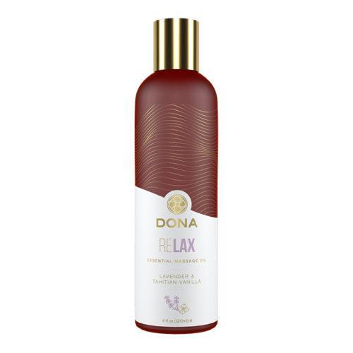 Эфирное массажное масло Dona с ароматом тиянской ванили и лаванды - 120 мл.