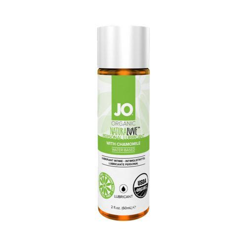 Органический лубрикант на водной основе с ромашкой / JO Naturalove USDA Original 2oz - 60 мл.